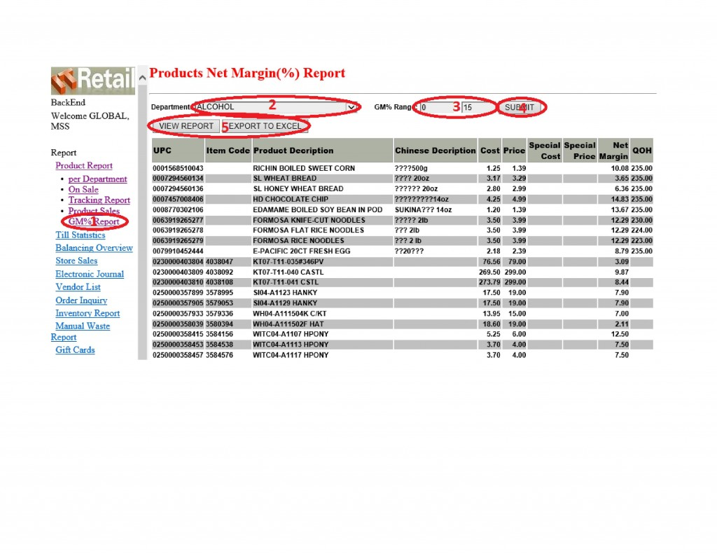 Product Report - Net Margin ( )-page-001